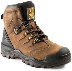 Buckler Boots Hoge Schoen BSH007BR S3 + KN - Bruin