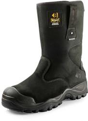 OUTLET! Buckler Boots BSH010BK Veiligheidslaars S3 - Zwart - Maat 45