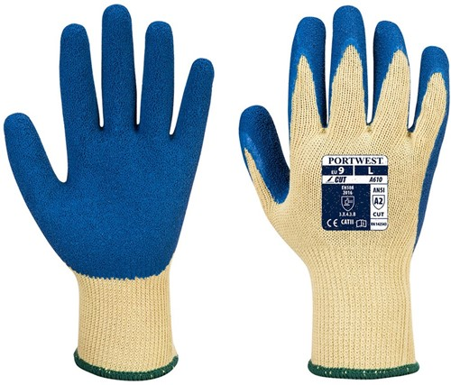 Portwest A610 LR Latex Grip Glove