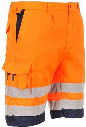 Portwest E043 Hi-Vis P/C Shorts