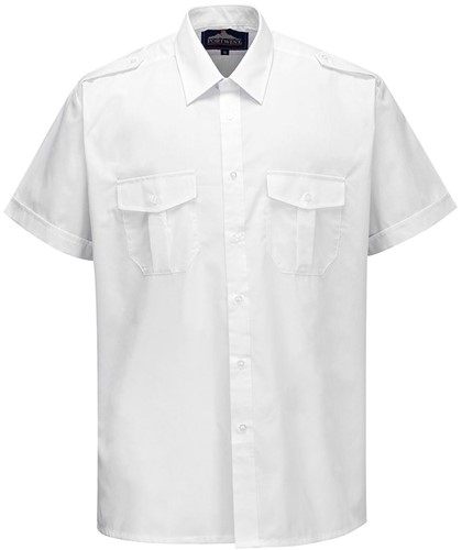 Portwest S101 Pilot Shirt Short Sleeve