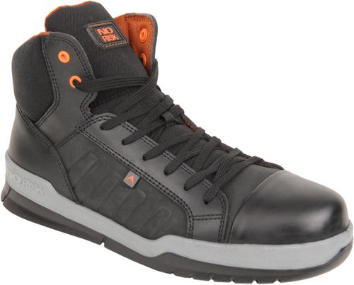 No Risk Sneaker Hoog Clayton S3 - Zwart