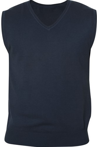 SALE! Clique Adrian heren V-neck pullover - Dark navy - Maat M