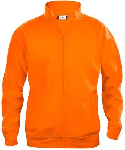 SALE! Clique 021038 Basic cardigan - Signaal oranje - Maat L