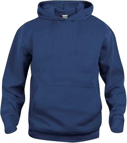 SALE! Clique 021021-2 Basic hoody kinderen - Dark navy - Maat 90/100