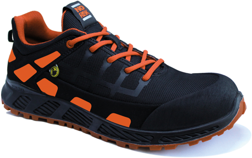 No Risk Lage Sneaker Creed S3 ESD - Oranje