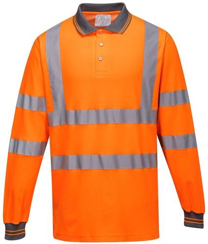 Portwest S271 Cotton Comfort Polo  L/S