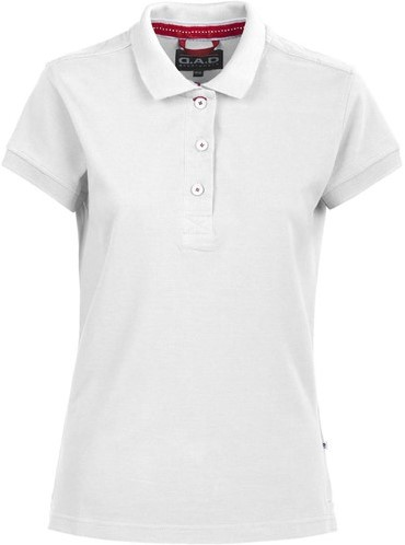 SALE! DAD 134031 Lynton Polo Dames- Wit - Maat XL