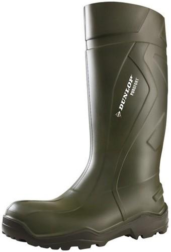 Dunlop D460933 Purofort Knielaars - groen-38