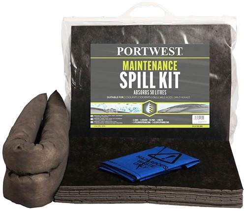 Portwest SM30 Spill Maintenance Kit 20L  (6 stuks)