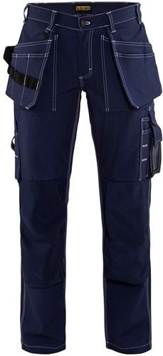 Blaklader 15451370 Dames Werkbroek-Marineblauw-C34