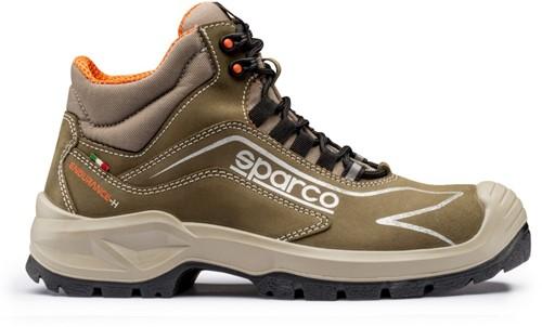 Sparco Endurance- H 07521.VDVD Veiligheidsschoen S3 - Legergroen