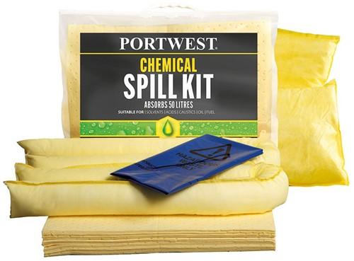 Portwest SM91 Spill Chemical Kit 50L  (3 stuks)