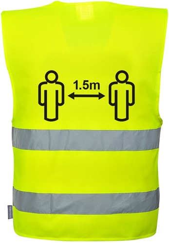 Portwest CV74 Social Distancing Vest  1.5m