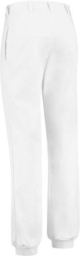 WW4A Foodbroek Polyester/Katoen met manchetten - Wit - Maat 42