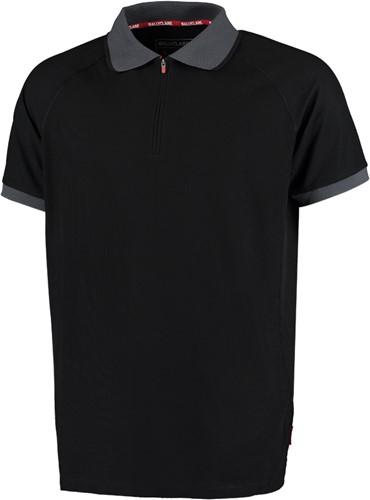 BallyClare 38302/801 moisture management polo shirt met quarter zip