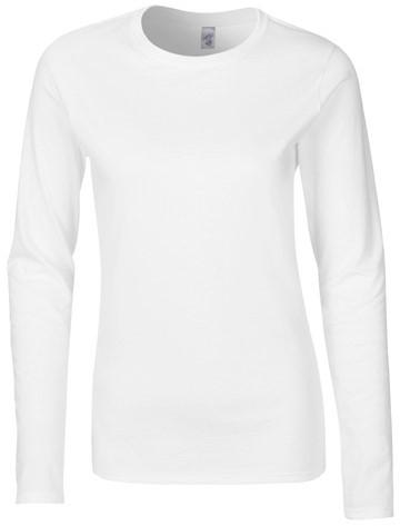 Gildan GIL64400L T-Shirt Long Sleeve Softstyle Ladies