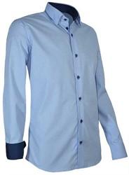 Giovanni Capraro 939-32 Overhemd - Licht Blauw - Maat M