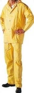 Gevavi GW74 Regenpak PVC - geel-M