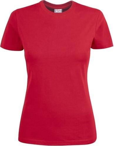 SALE! Printer 2264014 Heavy Dames T-shirt - Rood - Maat M