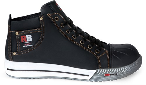 Redbrick Sunstone Toe cap Black S3-36