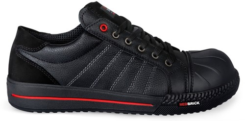 Redbrick Ruby Toe cap Black S3-36