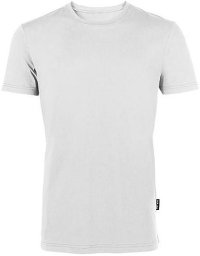 SALE! HRM 101 Heren T-shirt Luxe Ronde Hals - Wit - Maat L