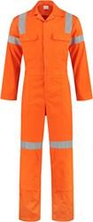WW4A Hoge Zichtbaarheidsoverall 100% katoen - Oranje