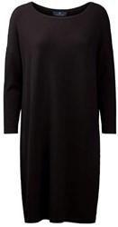 Clipper Corporate Dames jurk loose fit - 109 | Zwart