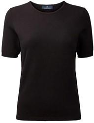 Clipper Corporate Dames T-Shirt korte mouwen - 109 | Zwart