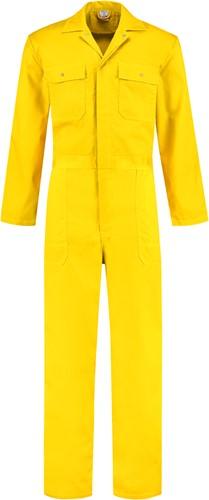 WW4A Kinderoverall Polyester/Katoen - Geel - Maat 104