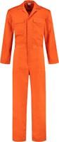 WW4A Kinderoverall Polyester/Katoen - Oranje - Maat 104