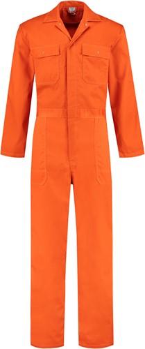 WW4A Kinderoverall Polyester/Katoen - Oranje - Maat 74