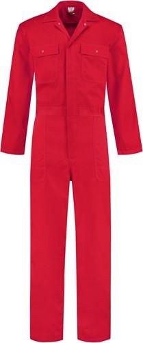 WW4A Kinderoverall Polyester/Katoen - Rood - Maat 74