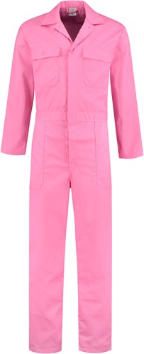 WW4A Kinderoverall Polyester/Katoen - Roze