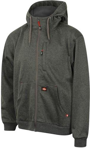 SALE! Lee Cooper LCSWT123 Hoody Bonded Sweatshirt - Grijs - Maat L