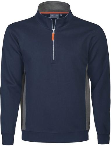 MacOne 2532026 Bill Half Zip Sweater