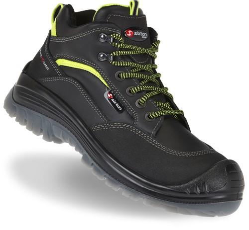 Sixton Endurance Montauk 81154-11 Veiligheidsschoen S3 - Zwart/Lime