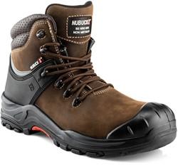 Buckler Boots Nubuckz Hoge Veiligheidsschoen S3 - Bruin