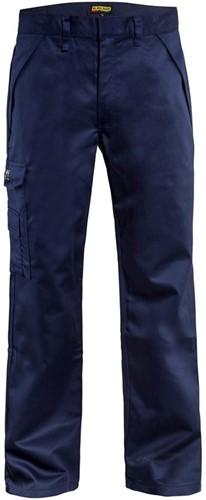 SALE! Blåkläder 172415168900 Vlamvertragende werkbroek - Navy -  Maat D112