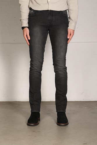 New Star JV Slim Fit Stretch Denim - zwart denim-1