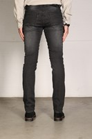 New Star JV Slim Fit Stretch Denim - zwart denim-3