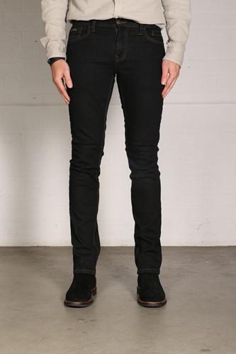 New Star JV Slim Fit Stretch Denim - blauw/zwart-1