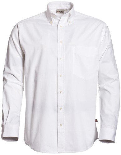 SALE! Santino 102902 Overhemd - Wit - Maat 3XL