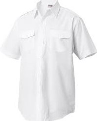 OUTLET! Arrivee Pilot Shirt - Wit - Maat 45/46
