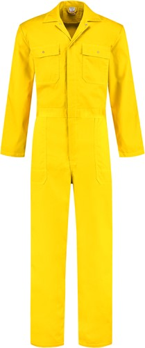 WW4A Overall Polyester/Katoen - Geel