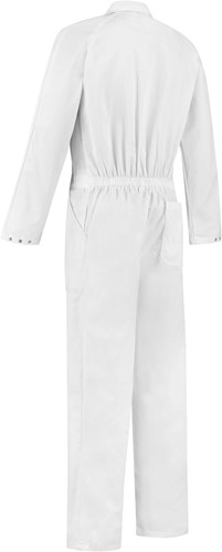 WW4A Overall Polyester/Katoen - Wit - Maat 44-2
