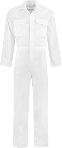 WW4A Overall Polyester/Katoen - Wit - Maat 44