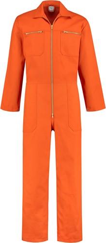 WW4A Overall 100% Katoen met rits - Oranje