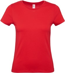 OUTLET! #E150 Rood T-Shirt Dames - Maat M